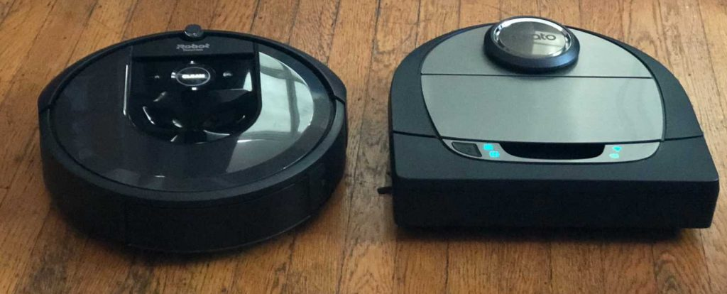Robot Vacuums vs. Canister and Upright Vacuums